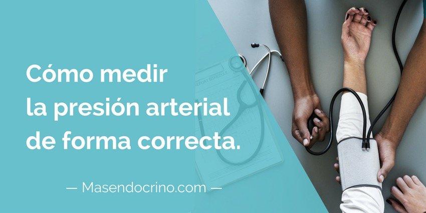 Como Medir La Presión Arterial De Forma Correcta