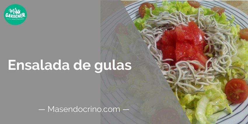 Ensalada De Gulas