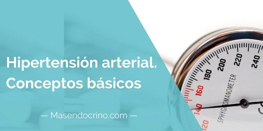 Hipertensión Arteria Conceptos Básicos