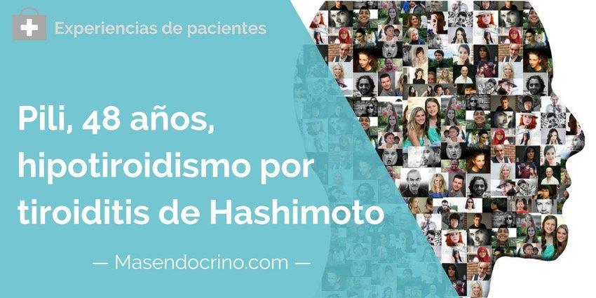 Paciente Hipotiroidismo Tiroiditis Hashimoto