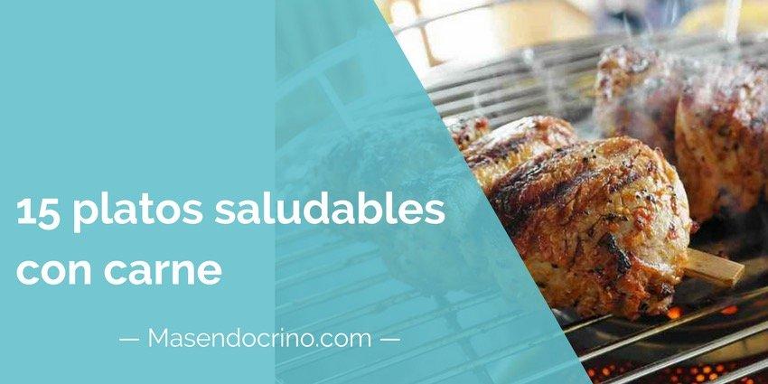 Platos Saludables Con Carne