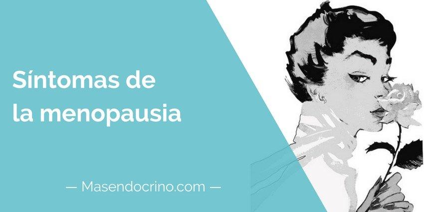 Sintomas De La Menopausia