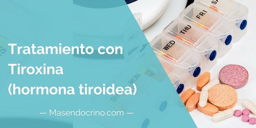 Tratamiento con hormona tiroidea