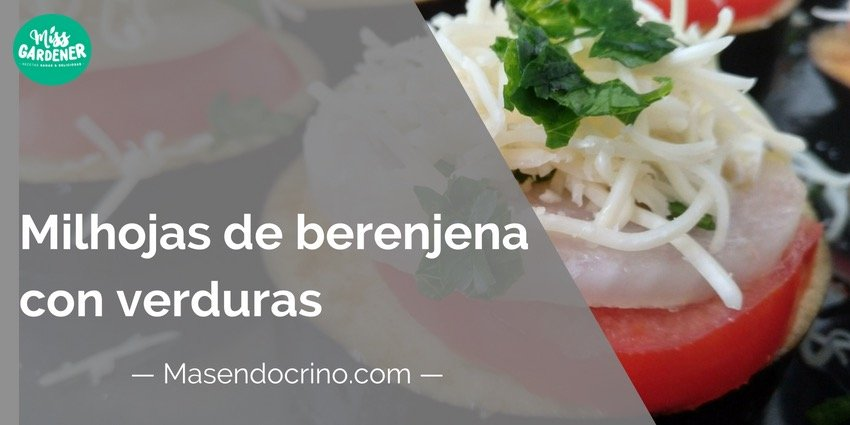 Milhojas De Berenjena