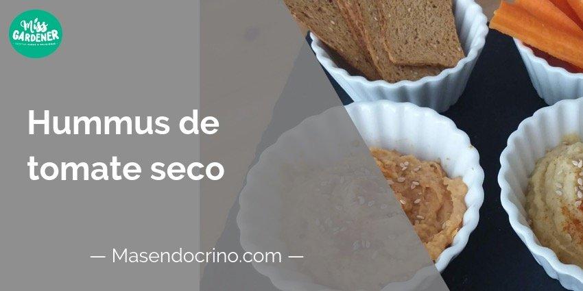 Hummus Tomate Seco